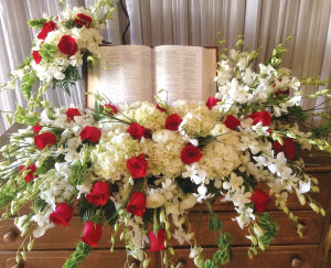 WHITE AND RED ASSORTED REAL BIBLE KEEPSAKE